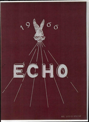 Hillsdale High School - Echo Yearbook (Jeromesville, OH) online yearbook collection, 1966 Edition, Cover
