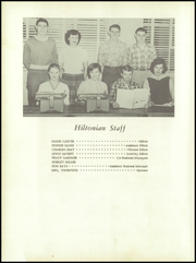 Hilton High School - Hiltonian Yearbook (Hiltons, VA) online yearbook collection, 1956 Edition, Page 8 of 108