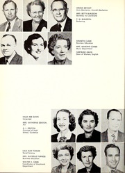 Hinds Community College - Eagle Yearbook (Raymond, MS) online yearbook collection, 1955 Edition, Page 16