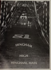 Hingham High School - Highway Yearbook (Hingham, MA) online yearbook collection, 1981 Edition, Page 5
