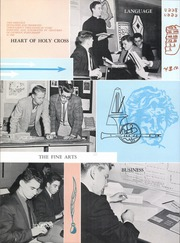 Holy Cross High School - The Cross Yearbook (Flushing, NY) online yearbook collection, 1960 Edition, Page 12 of 202