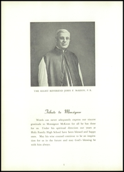 Holy Family High School - Maria Yearbook (New Bedford, MA) online yearbook collection, 1952 Edition, Page 10