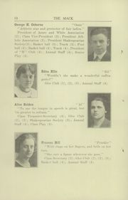 Hononegah High School - Mack Yearbook (Rockton, IL) online yearbook collection, 1922 Edition, Page 14