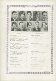 Hoopeston High School - Picayune Yearbook (Hoopeston, IL) online yearbook collection, 1929 Edition, Page 16 of 92