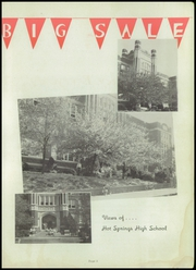 Hot Springs High School - Old Gold Book Yearbook (Hot Springs, AR) online yearbook collection, 1947 Edition, Page 7 of 144