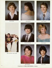 Hulbert High School - Rider Yearbook (Hulbert, OK) online yearbook collection, 1983 Edition, Page 14