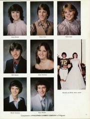 Hulbert High School - Rider Yearbook (Hulbert, OK) online yearbook collection, 1983 Edition, Page 15 of 126