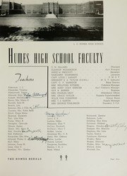 Humes High School - Senior Herald Yearbook (Memphis, TN) online yearbook collection, 1942 Edition, Page 7 of 100