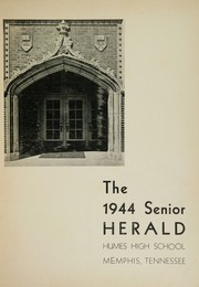 Humes High School - Senior Herald Yearbook (Memphis, TN) online yearbook collection, 1944 Edition, Page 3