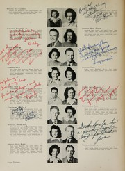 Humes High School - Senior Herald Yearbook (Memphis, TN) online yearbook collection, 1945 Edition, Page 18 of 116