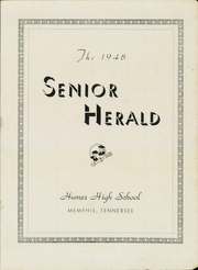 Humes High School - Senior Herald Yearbook (Memphis, TN) online yearbook collection, 1948 Edition, Page 3