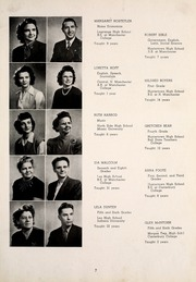 Page 11, 1947 Edition, Huntertown High School - Citadel Yearbook (Huntertown, IN) online yearbook collection