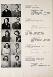 Page 16, 1947 Edition, Huntertown High School - Citadel Yearbook (Huntertown, IN) online yearbook collection