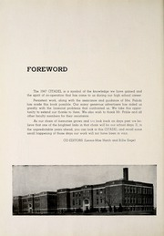 Page 6, 1947 Edition, Huntertown High School - Citadel Yearbook (Huntertown, IN) online yearbook collection