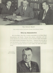 Huntingburg High School - Optimist Yearbook (Huntingburg, IN) online yearbook collection, 1949 Edition, Page 10