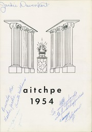 Hyde Park High School - Aitchpe Yearbook (Chicago, IL) online yearbook collection, 1954 Edition, Page 7