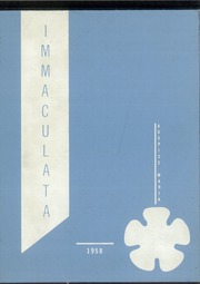 Immaculata High School - Immaculata Yearbook (Detroit, MI) online yearbook collection, 1958 Edition, Page 1