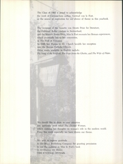 Immaculata University - Gleaner Yearbook (Immaculata, PA) online yearbook collection, 1962 Edition, Page 6