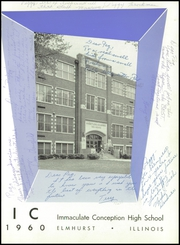 Immaculate Conception High School - Postscript Yearbook (Elmhurst, IL) online yearbook collection, 1960 Edition, Page 5