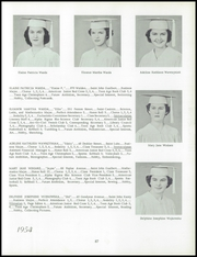 Immaculate Heart of Mary Academy - Immaculatan Yearbook (Buffalo, NY) online yearbook collection, 1954 Edition, Page 91