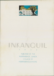Independence Junior College - Inkanquil Yearbook (Independence, KS) online yearbook collection, 1934 Edition, Page 7