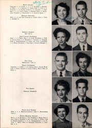 Irving High School - Lair Yearbook (Irving, TX) online yearbook collection, 1953 Edition, Page 17 of 142