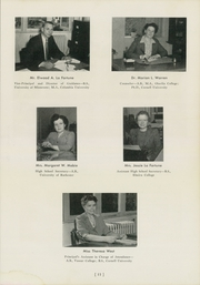 Ithaca High School - Annual Yearbook (Ithaca, NY) online yearbook collection, 1946 Edition, Page 15 of 116