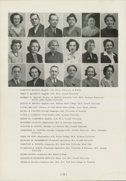 Ithaca High School - Annual Yearbook (Ithaca, NY) online yearbook collection, 1946 Edition, Page 16