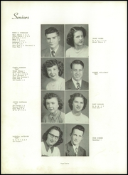 Jackson Central High School - Jacksonian Yearbook (Arcadia, IN) online yearbook collection, 1950 Edition, Page 16 of 104