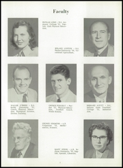 Jackson Central High School - Jacksonian Yearbook (Arcadia, IN) online yearbook collection, 1953 Edition, Page 9