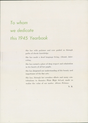 Jamaica Plain High School - Yearbook (Boston, MA) online yearbook collection, 1945 Edition, Page 11