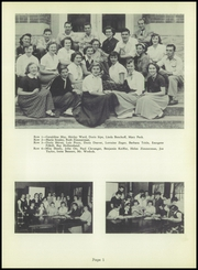 James Buchanan High School - Citadel Yearbook (Mercersburg, PA) online yearbook collection, 1954 Edition, Page 9 of 120