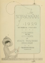 James Madison University - Bluestone Schoolmaam Yearbook (Harrisonburg, VA) online yearbook collection, 1929 Edition, Page 7