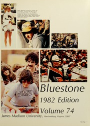 James Madison University - Bluestone / Schoolmaam Yearbook (Harrisonburg, VA) online yearbook collection, 1982 Edition, Page 5