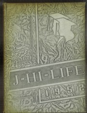 Jefferson Area High School - J Hi Life Yearbook (Jefferson, OH) online yearbook collection, 1952 Edition, Cover