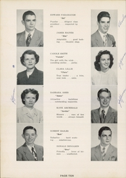 Page 14, 1952 Edition, Jefferson Area High School - J Hi Life Yearbook (Jefferson, OH) online yearbook collection
