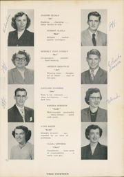 Page 17, 1952 Edition, Jefferson Area High School - J Hi Life Yearbook (Jefferson, OH) online yearbook collection