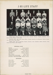 Page 6, 1952 Edition, Jefferson Area High School - J Hi Life Yearbook (Jefferson, OH) online yearbook collection