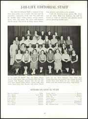 Jefferson Area High School - J Hi Life Yearbook (Jefferson, OH) online yearbook collection, 1956 Edition, Page 14