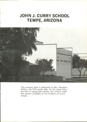 John Curry Grade School - Cougars Yearbook (Tempe, AZ) online yearbook collection, 1985 Edition, Page 5