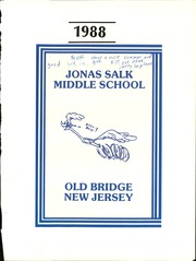 Jonas Salk Middle School - Heritage Yearbook (Old Bridge, NJ) online yearbook collection, 1988 Edition, Page 5 of 126