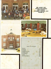 Jordan Vocational High School - Red Jacket Yearbook (Columbus, GA) online yearbook collection, 1981 Edition, Page 5