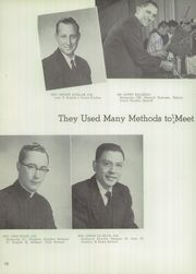 Junipero Serra High School - El Padre Yearbook (Gardena, CA) online yearbook collection, 1957 Edition, Page 14