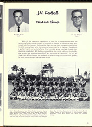 Kahuku High School - Ke Koolau Yearbook (Oahu, HI) online yearbook collection, 1965 Edition, Page 49