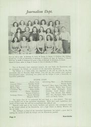 Kearsley High School - Echo Yearbook (Flint, MI) online yearbook collection, 1946 Edition, Page 8