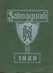 Keene High School - Salmagundi Yearbook (Keene, NH) online yearbook collection, 1929 Edition, Page 1