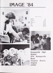 Kempsville High School - Image Yearbook (Virginia Beach, VA) online yearbook collection, 1984 Edition, Page 5