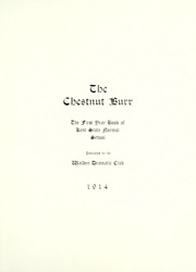 Kent State University - Chestnut Burr Yearbook (Kent, OH) online yearbook collection, 1914 Edition, Page 9