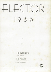 Kilgore High School - Reflector Yearbook (Kilgore, TX) online yearbook collection, 1936 Edition, Page 7
