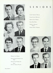 Kings Mountain High School - Milestones Yearbook (Kings Mountain, NC) online yearbook collection, 1959 Edition, Page 22
